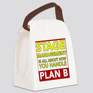 Stage Management Plan B Canvas Lunch Bag