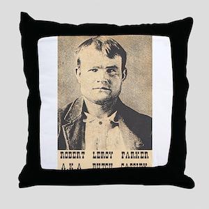 Robert LeRoy Parker Throw Pillow