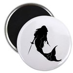 Fencing Mermaid Magnet