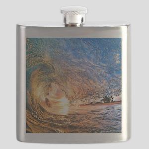 Summer Wave Flask