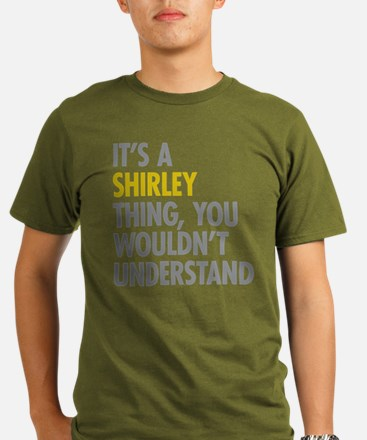 Its A Shirley Thing Organic Men's T-Shirt (dark)