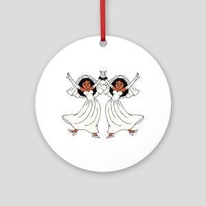 Lesbian Ceremony Ornament (Round)