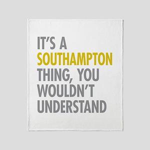 Southampton Throw Blanket