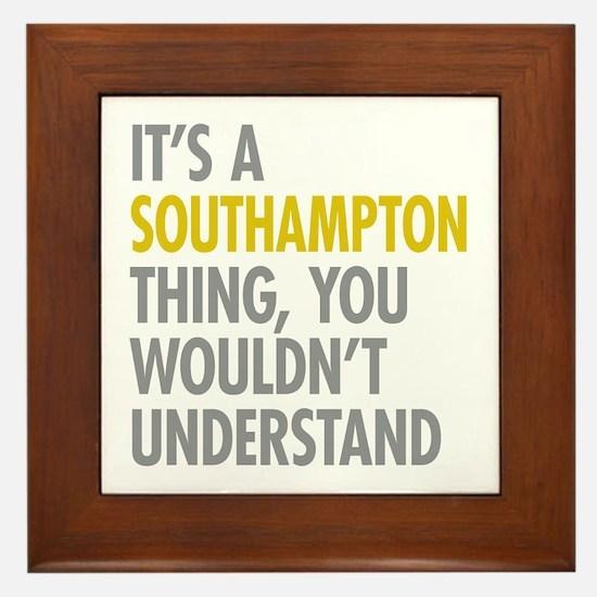 Southampton Framed Tile