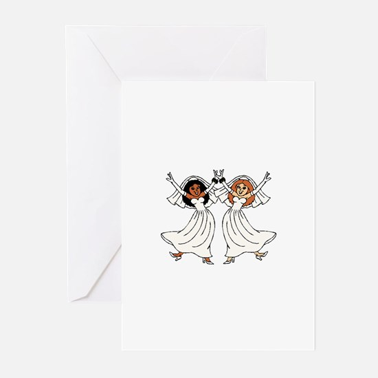 gay marriage Greeting Cards (Pk of 10)