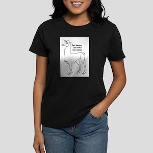 Spit Happens Women's Cap Sleeve T-Shirt