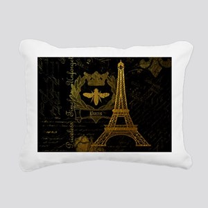 La Tour Effiel Rectangular Canvas Pillow