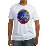 USS BLUEBACK Fitted T-Shirt