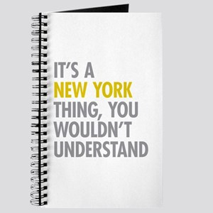 Its A New York Thing Journal