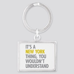 Its A New York Thing Landscape Keychain