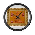 Power Large Wall Clock