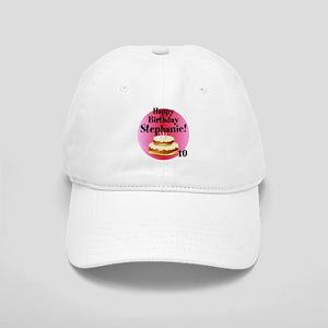 Personalized Name/Age Birthday Cake Pink Baseball