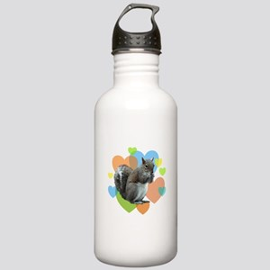 Squirrel Hearts Stainless Water Bottle 1.0L
