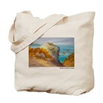 Rocks at Point Lobos Tote Bag