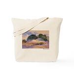 Blowing Sand Tote Bag