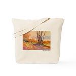 One October Morn Tote Bag