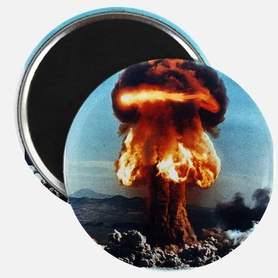 Nuclear Bomb Mushroom Cloud Magnet