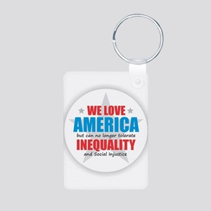 We Love America... BUT Keychains