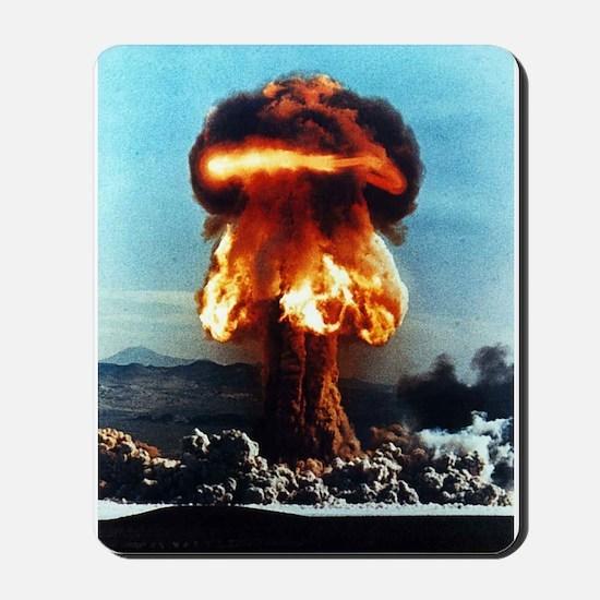 Nuclear Bomb Mushroom Cloud Mousepad