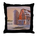 Winter's Harvest Throw Pillow