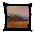 Calm Vigil Throw Pillow