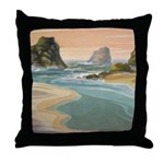 Navarro River Throw Pillow