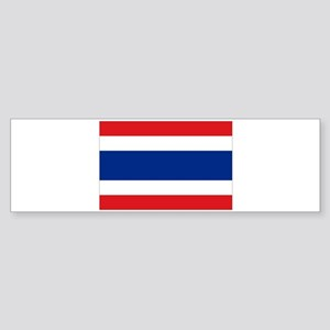 Flag Thailand Bumper Sticker