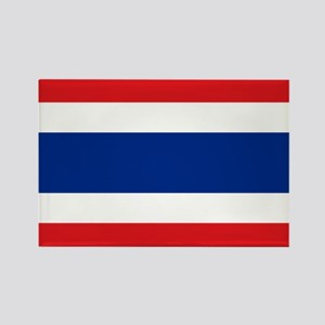 Flag Thailand Rectangle Magnet