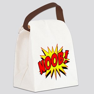 Noob! Canvas Lunch Bag
