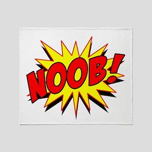 Noob! Throw Blanket
