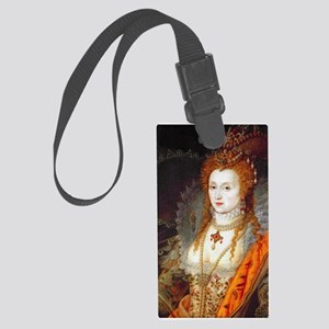 Queen Elizabeth I Large Luggage Tag