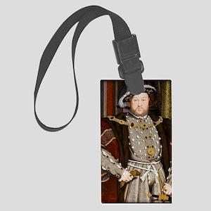 Henry VIII Large Luggage Tag