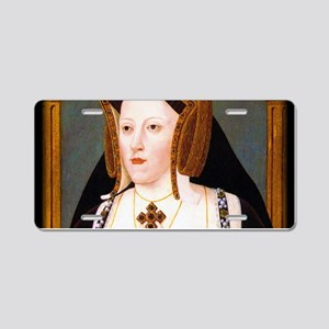 Catherine of Aragon Aluminum License Plate
