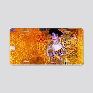 Klimt: Adele Bloch-Bauer I. Aluminum License Plate