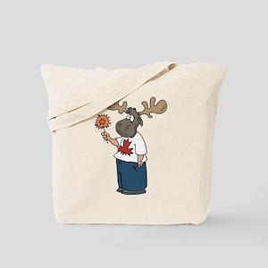 Moose Canada Tote Bag