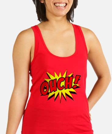 Ouch! Racerback Tank Top