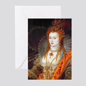 Queen Elizabeth I Greeting Cards (Pk of 10)