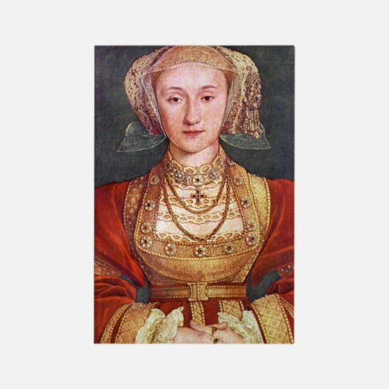 Anne of Cleves Rectangle Magnet