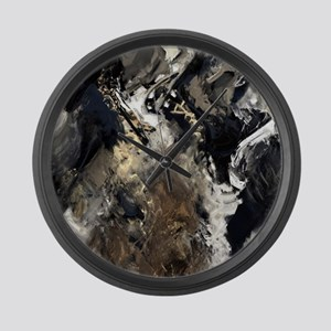 Concretion Large Wall Clock