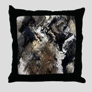 Concretion Throw Pillow