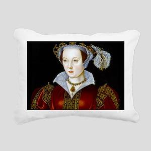 Katherine Parr Rectangular Canvas Pillow