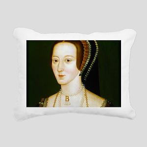Anne Boelyn Rectangular Canvas Pillow