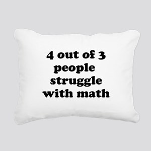 4 out of 3 people struggle with math Rectangular C