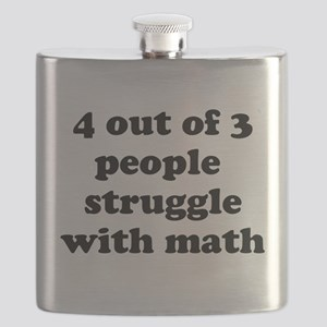 4 out of 3 people struggle with math Flask