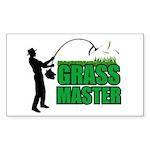 Grass Master Rectangle Sticker