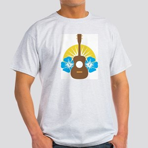 Ukulele Hibiscus Light T-Shirt