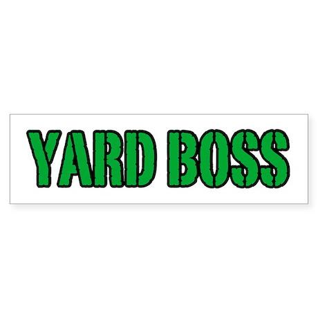 Yard Boss Bumper Sticker