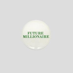 Future Millionaire - Wealth Mini Button