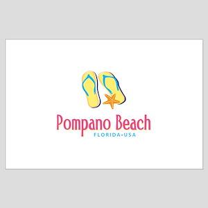 Pompano Beach - Large Poster