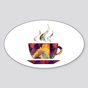 Colorful Cup of Coffee copy Sticker
